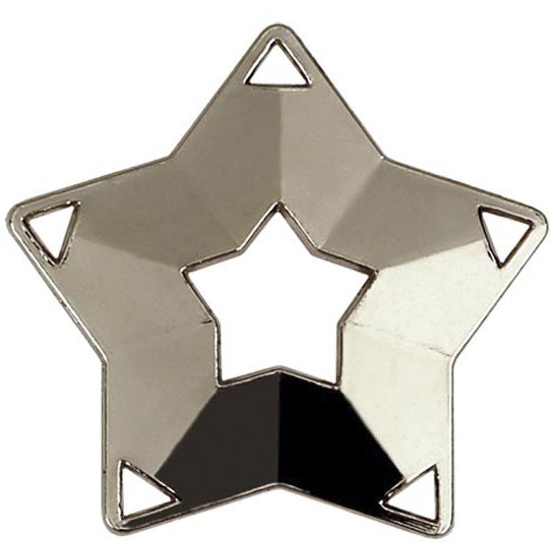 60mm Mini Star Silver Medal