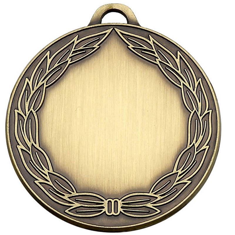 50mm Classic Wreath Bronze Medal