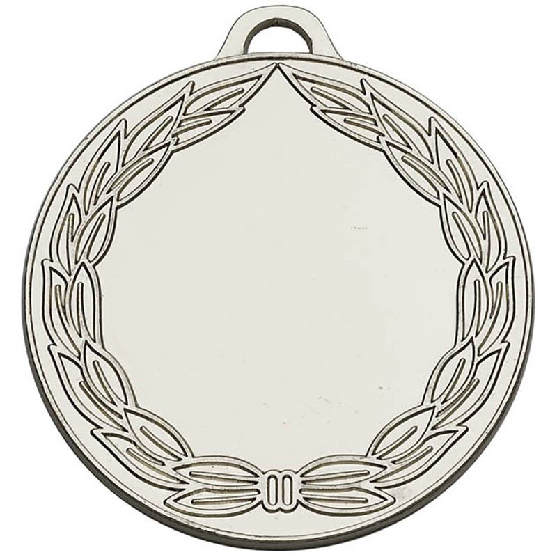 50mm Silver Classic Wreath Winners Medal
