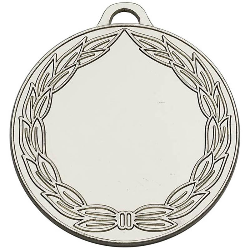 50mm Silver Classic Wreath Winners Medal