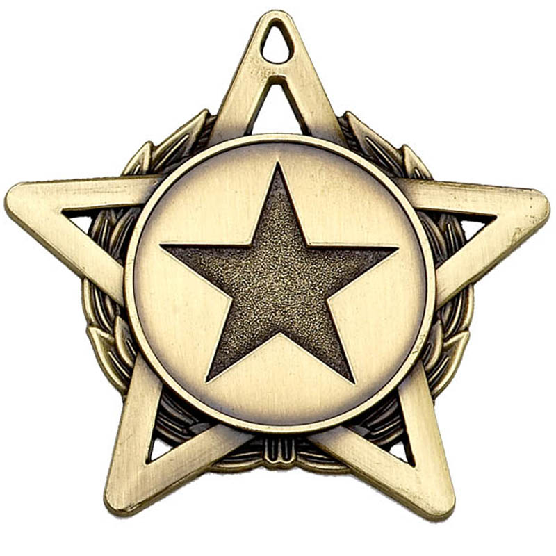 50mm Hope Star Gold Medal