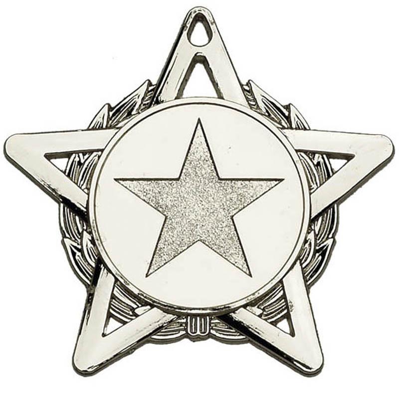 50mm Hope Star Wreath Medal