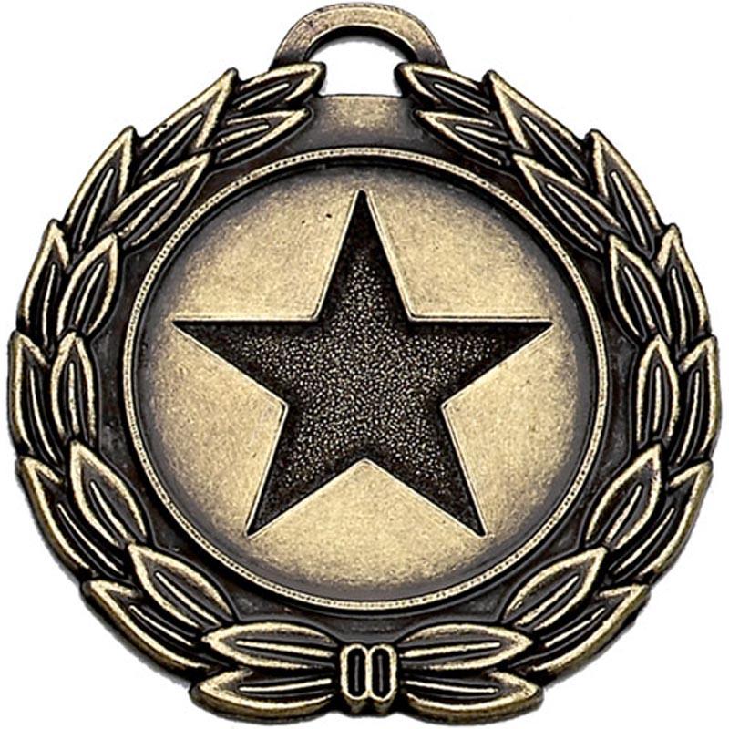 40mm Bronze Megastar Medal