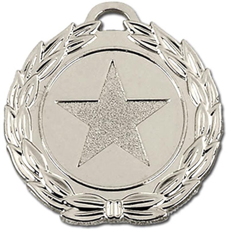 40mm Megastar Silver Medal