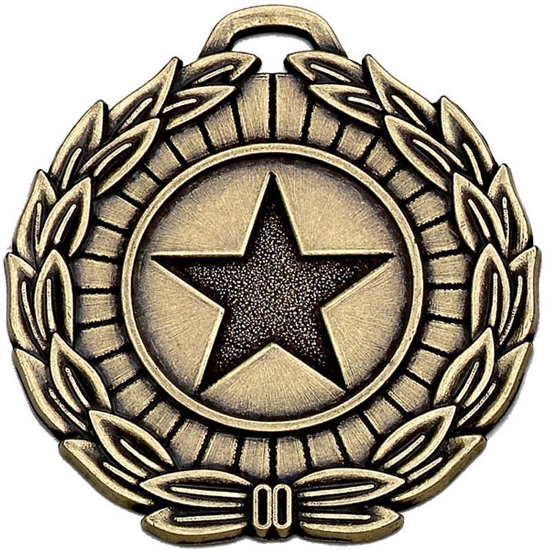 40mm Megastar Bronze Laurel Medal