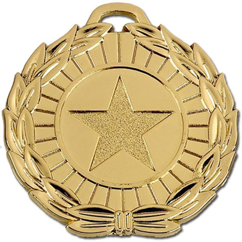50mm Megastar Gold Medal