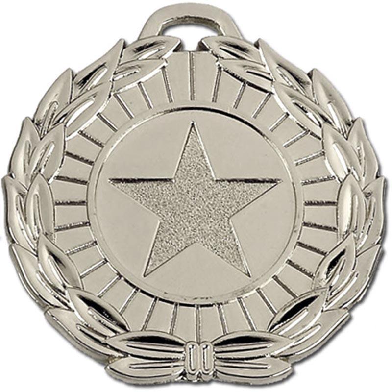50mm Megastar Silver Medal