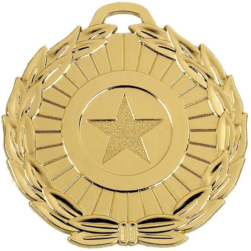 70mm Megastar Gold Medal