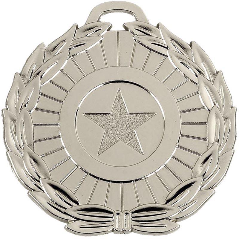 70mm Megastar Silver Medal
