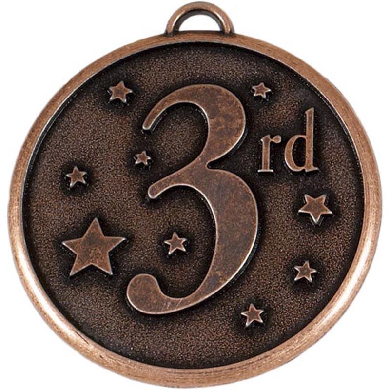 50mm Bronze 3rd Place Stars Elation Medal