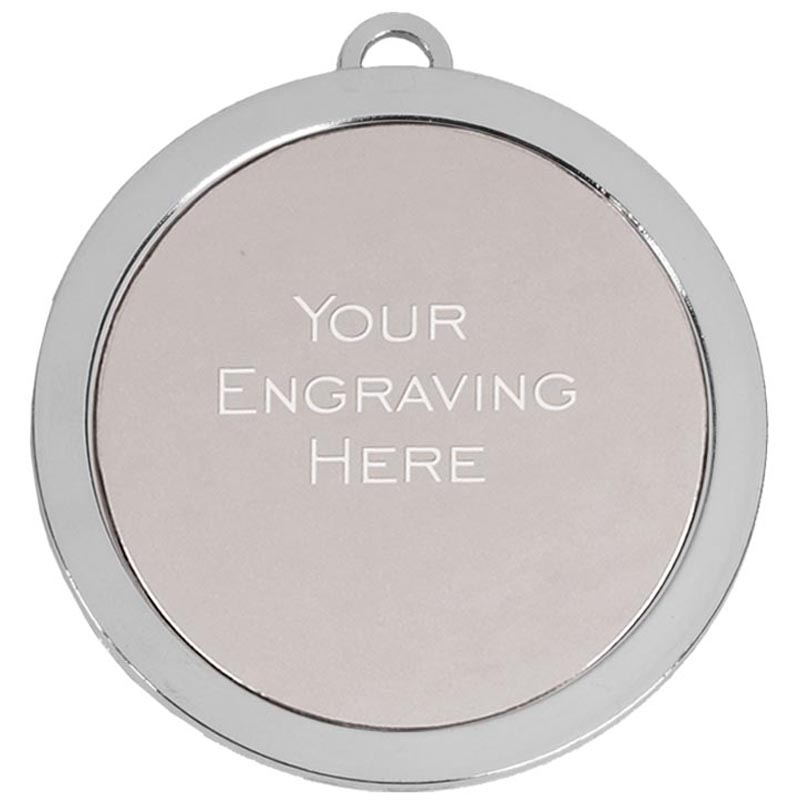 60mm Silver Engraving Centre Prestige Medal