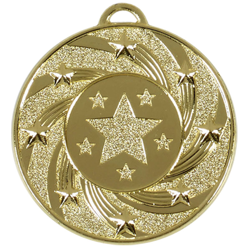 50mm Gold Star Vortex Target Medal