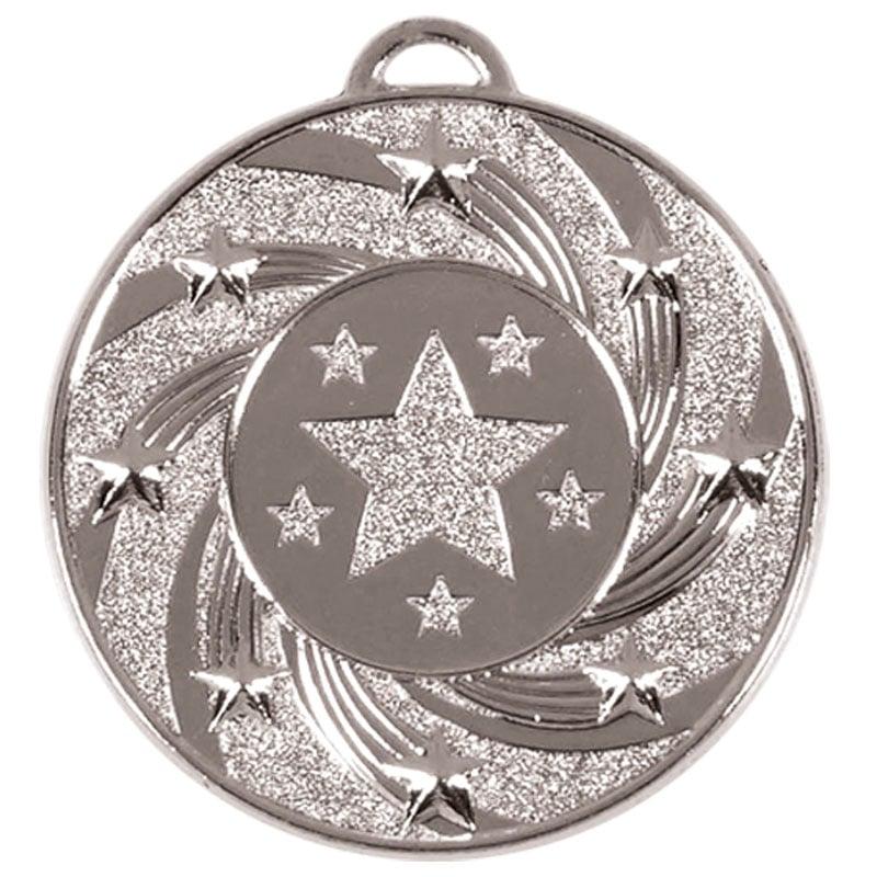 50mm Silver Star Vortex Target Medal