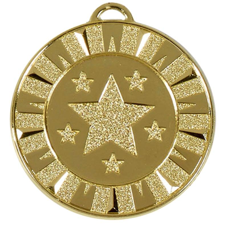 40mm Gold Star Target Medal