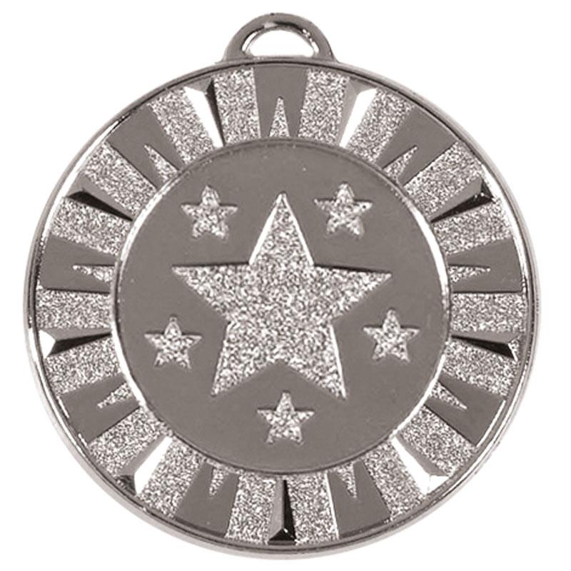 40mm Silver Star Target Medal