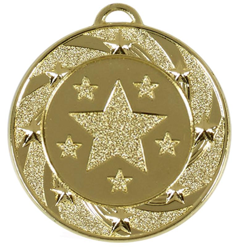 40mm Gold Star Vortex Target Medal