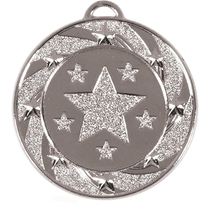 Silver Star Vortex Target Medal