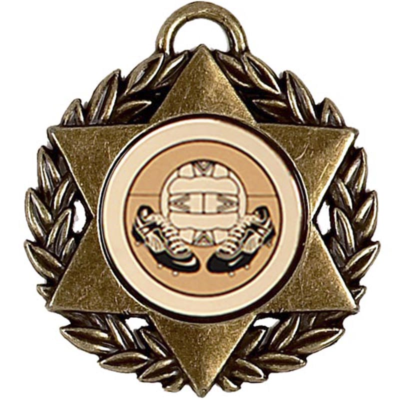 50mm Star Bronze Medal