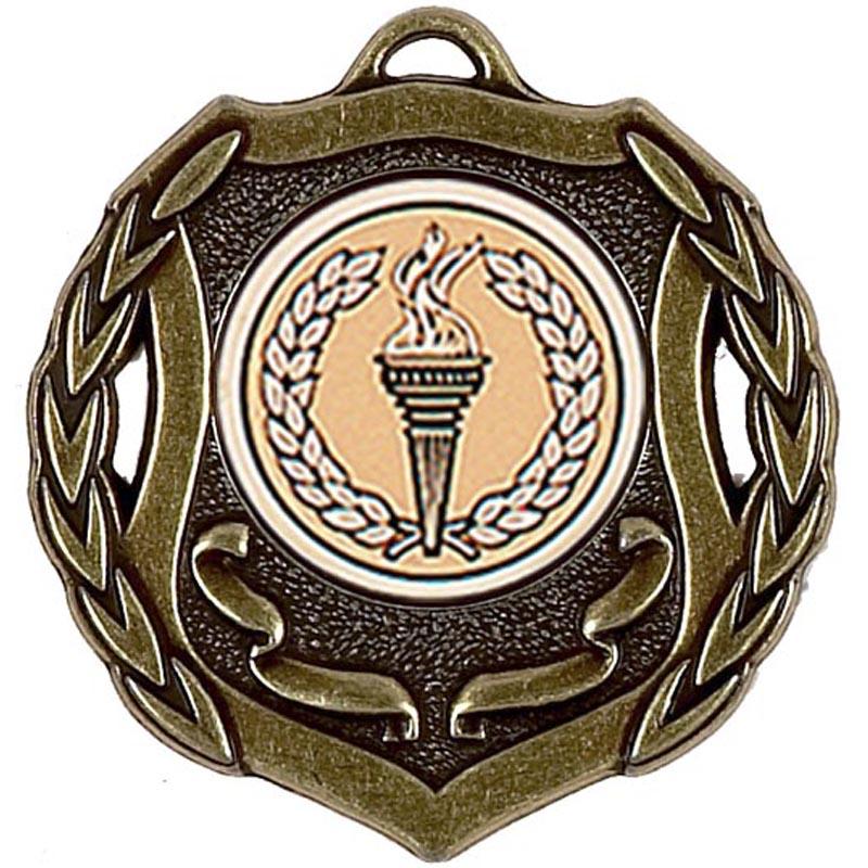 50mm Shield Bronze Medal