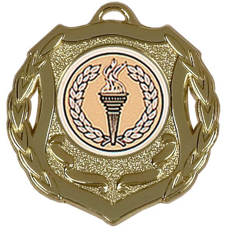 50mm Shield Gold Medal