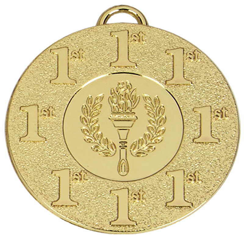 Gold 1st Place Torch Target Medal