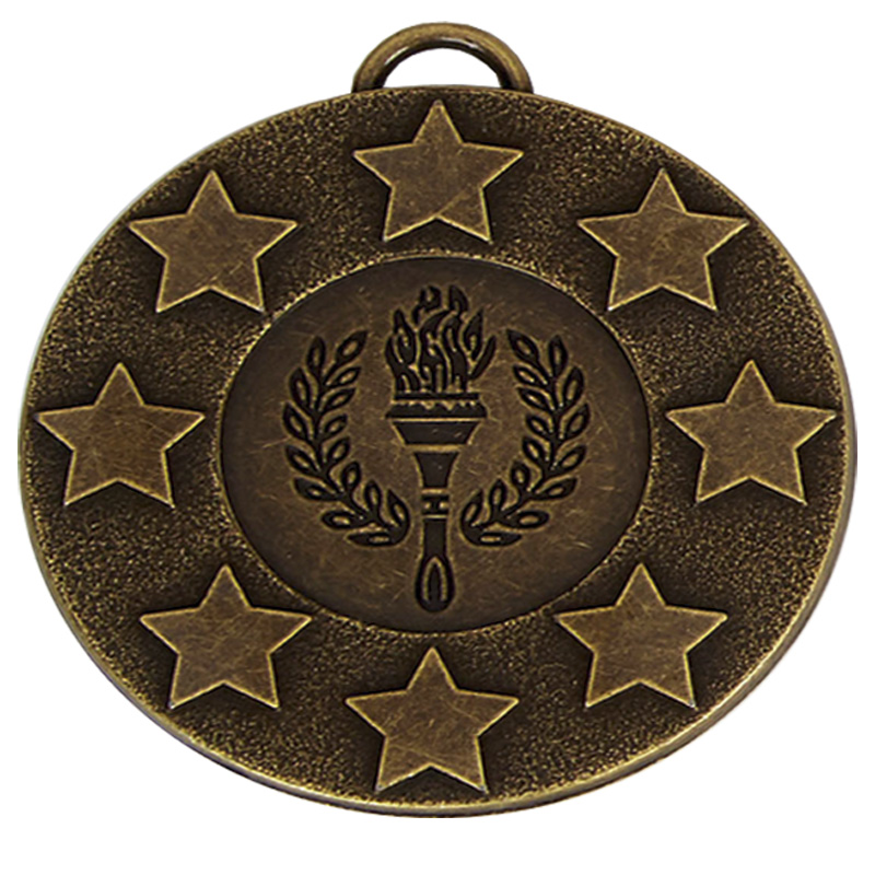 Bronze Star Torch Target Medal