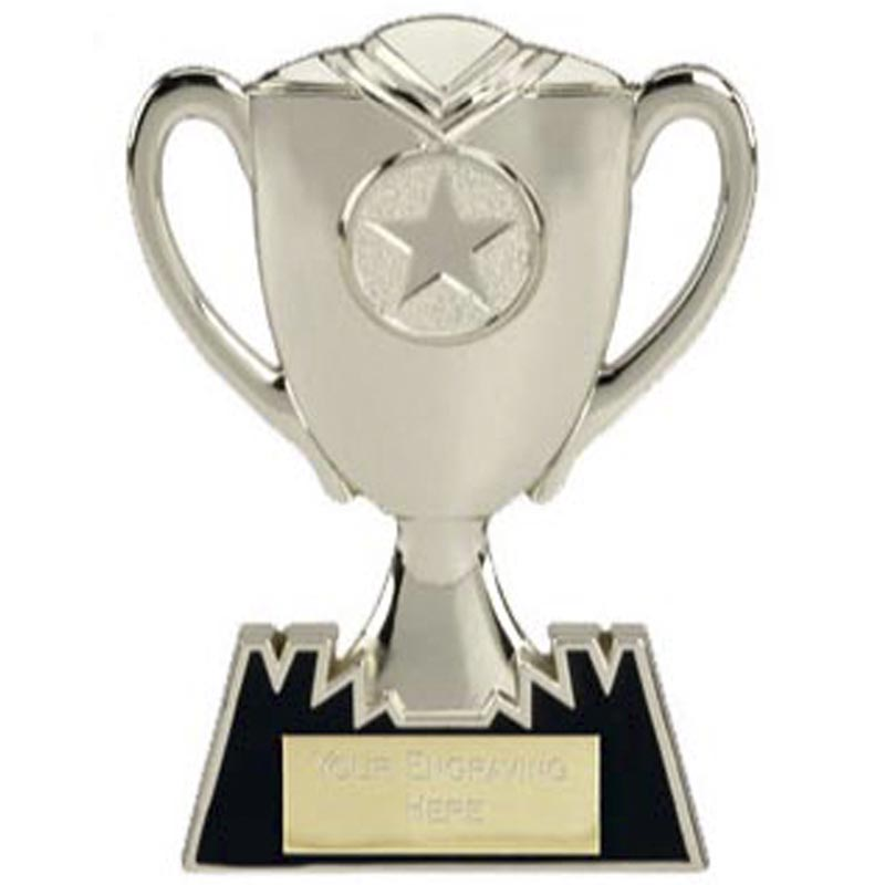 5 Inch Silver Meal Cup Multi Award