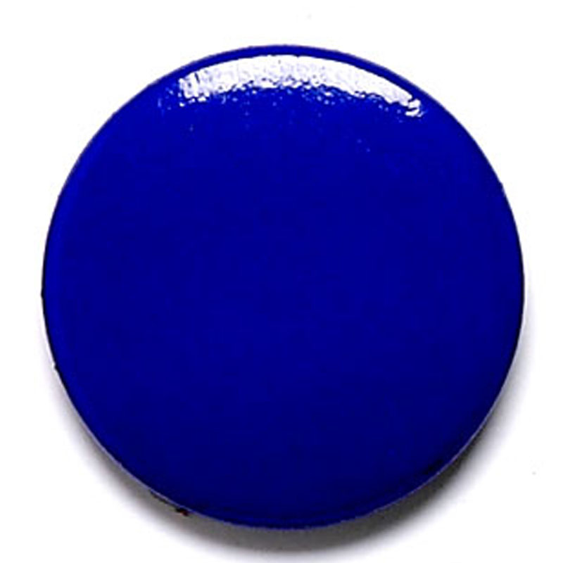 1 Inch Blue Pin Badge