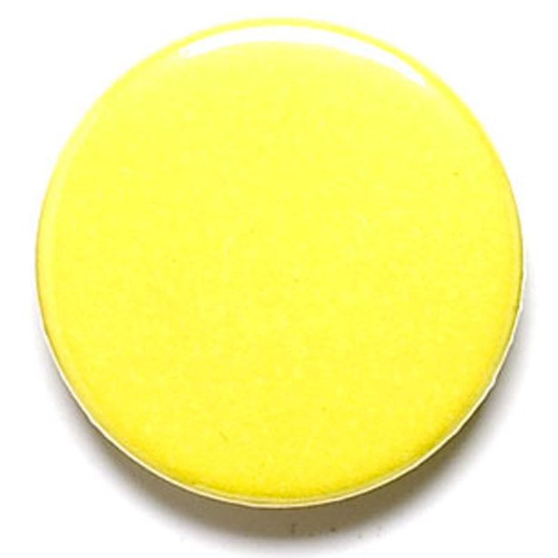 1 Inch Yellow Pin Badge