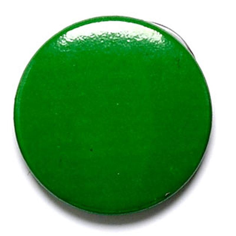 1 Inch Green Pin Badge