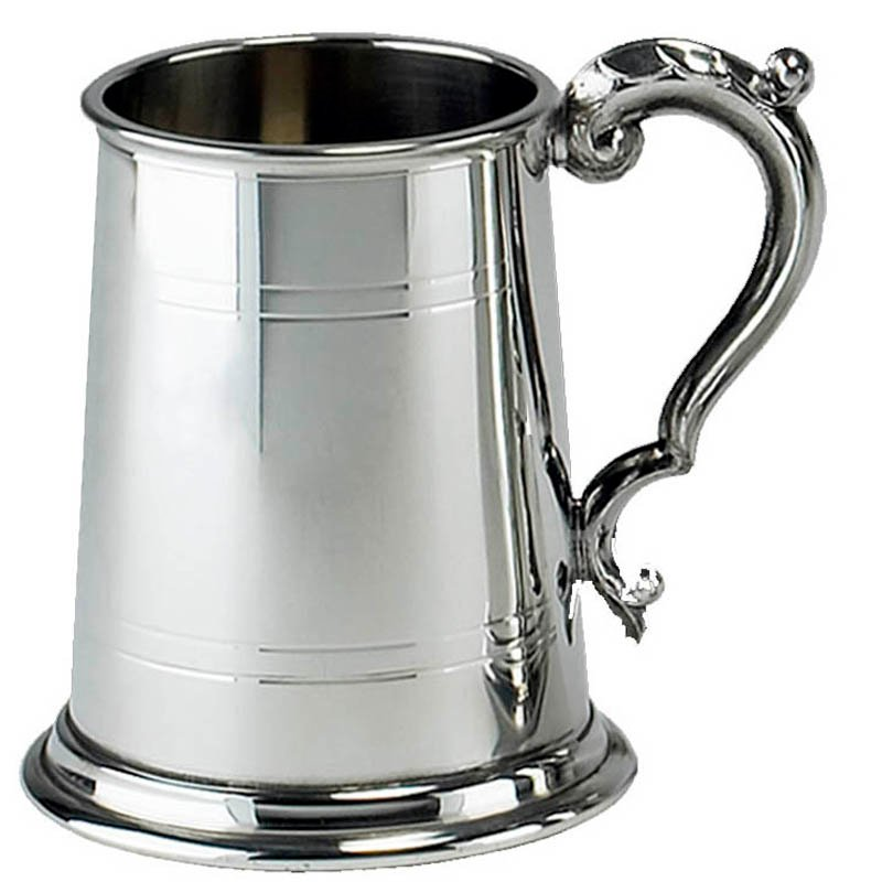 1 Pint Pewter Commodore Tankard