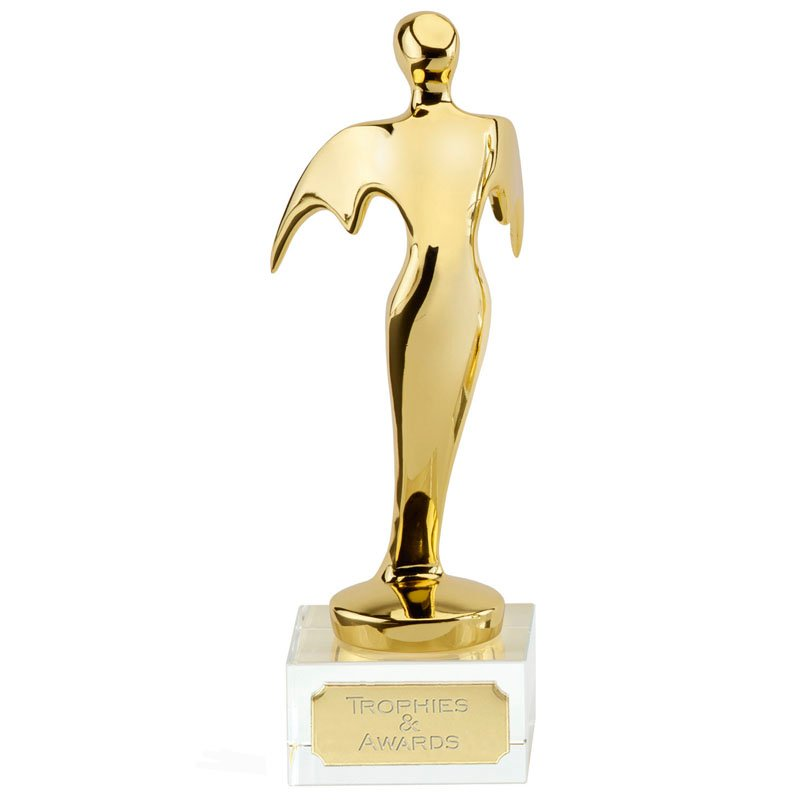 9 Inch Gold Angel Orion Statue