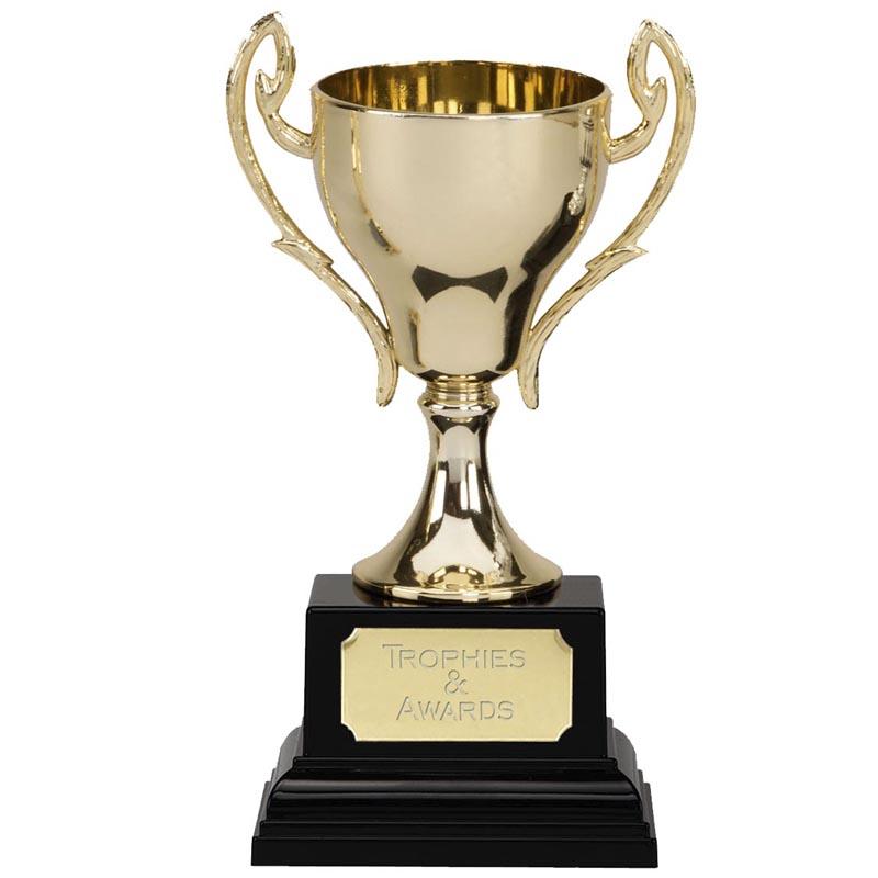6 Inch Spire Golden Cup Trophy