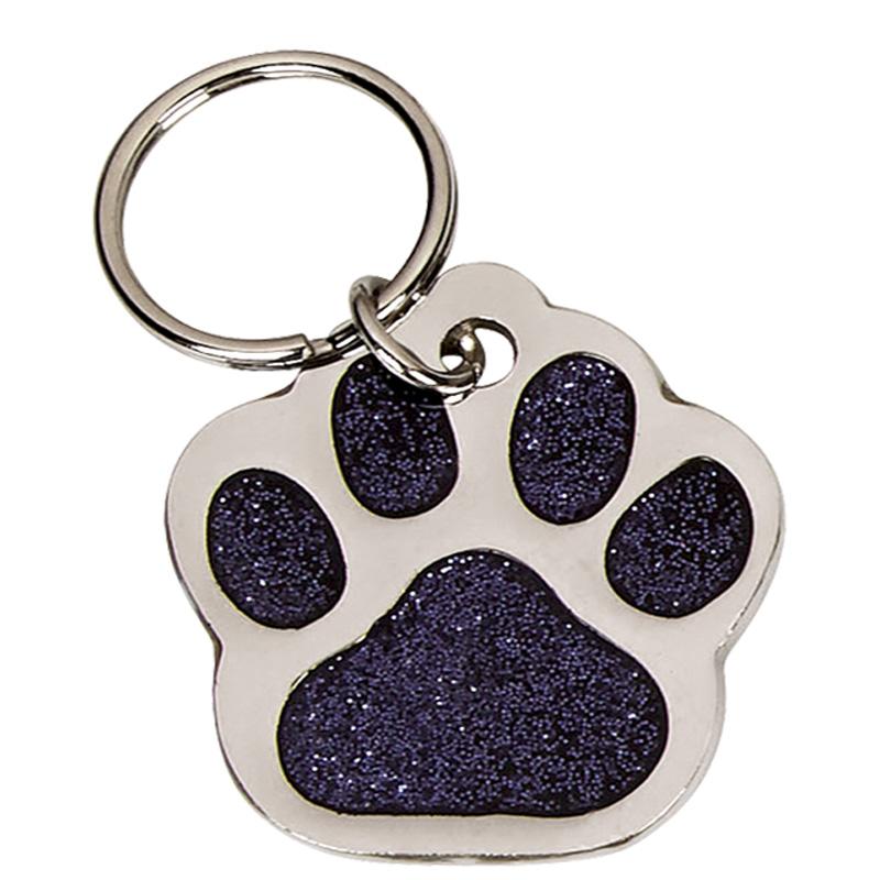 35mm Black Paw Pets Companion Pet Tag