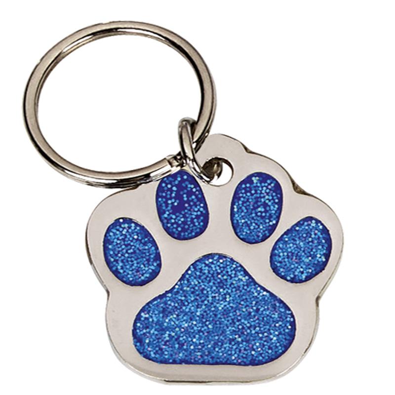 28mm Blue Paw Pets Companion Pet Tag