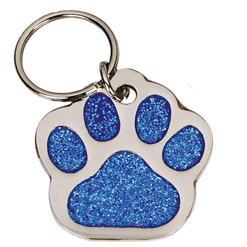35mm Blue Paw Pets Companion Pet Tag
