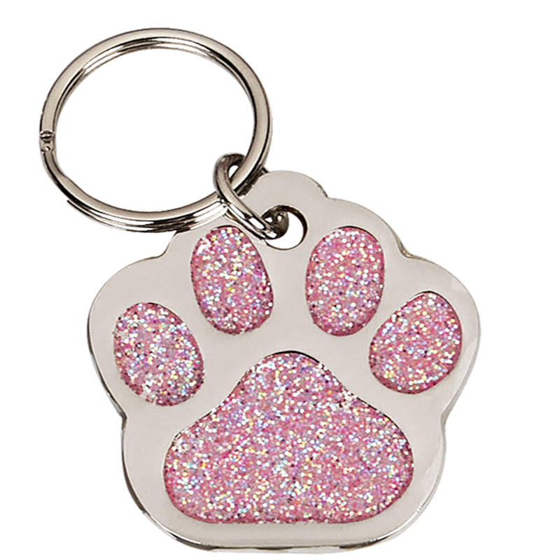 35mm Pink Paw Pets Companion Pet Tag