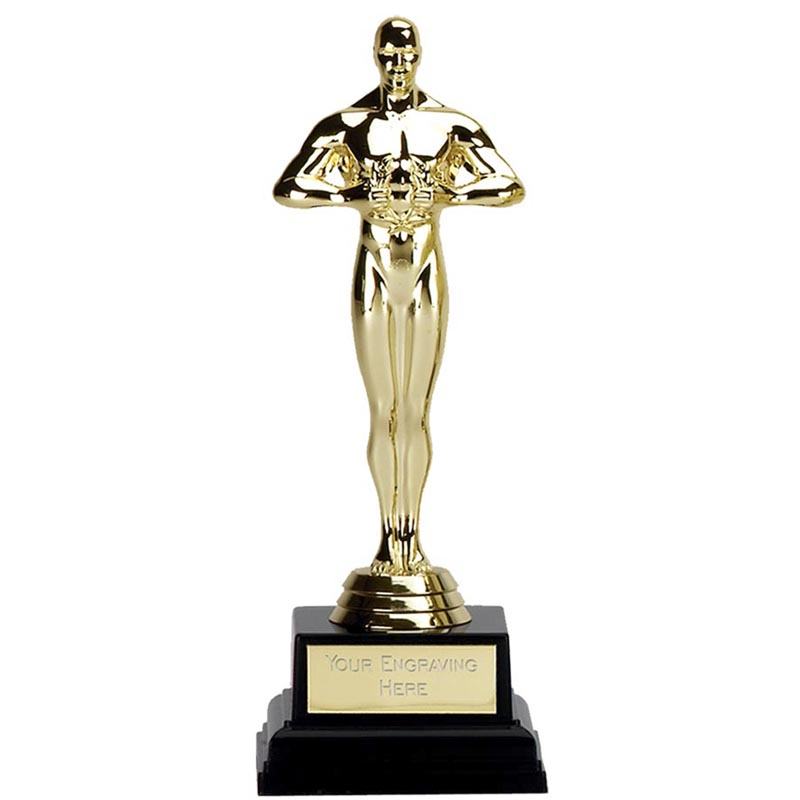 7 Inch Gold Statue Achievement Award