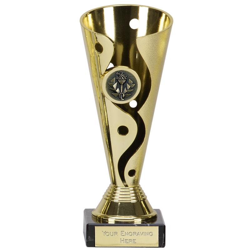 8 Inch Gold Cup Carnival Award