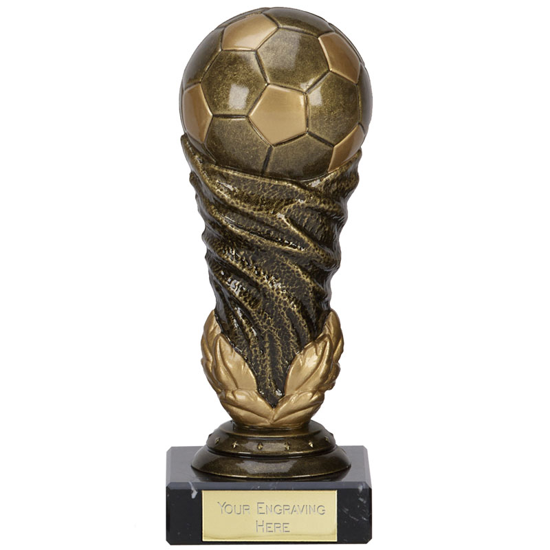 5 Inch Detailed Ball Football Icon Award