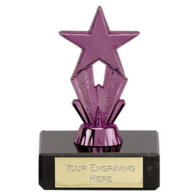 3 Inch Violet Star Micro Star Award