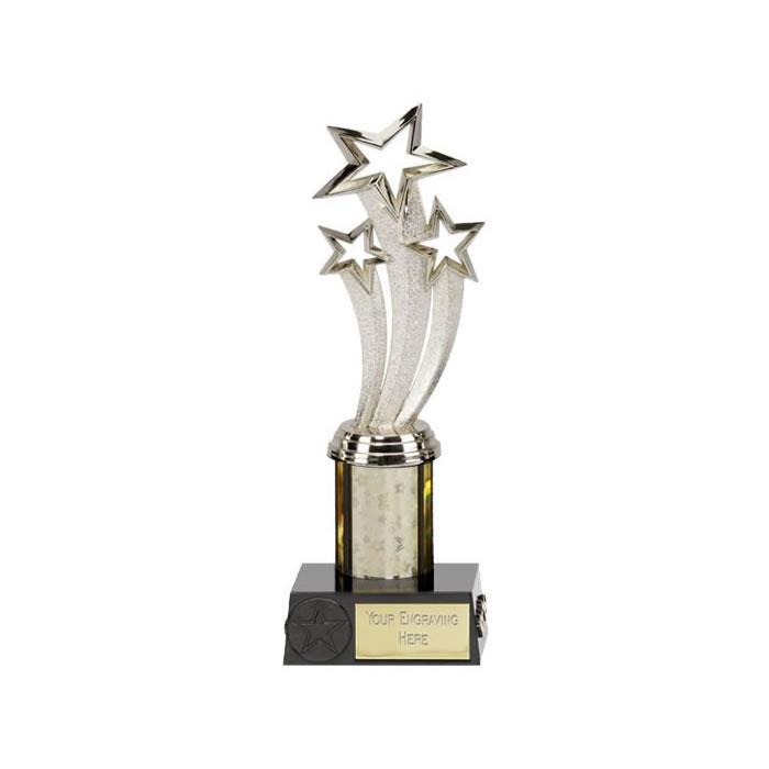 9 Inch Jubilation Silver Trophy