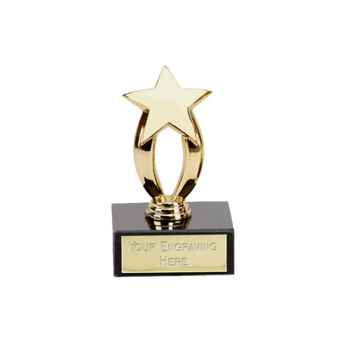 3 Inch Micro Star Gold Award
