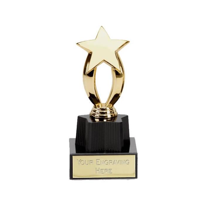 4 Inch Micro Star Gold Award