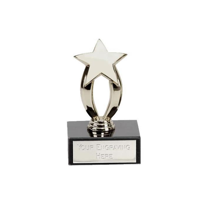 3 Inch Micro Star Silver Award