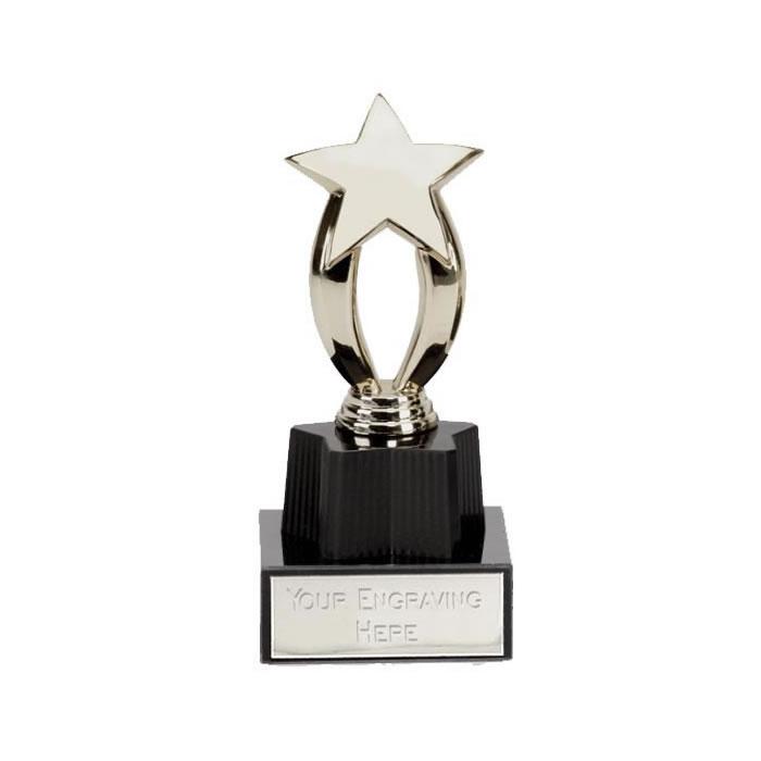 4 Inch Micro Star Silver Award