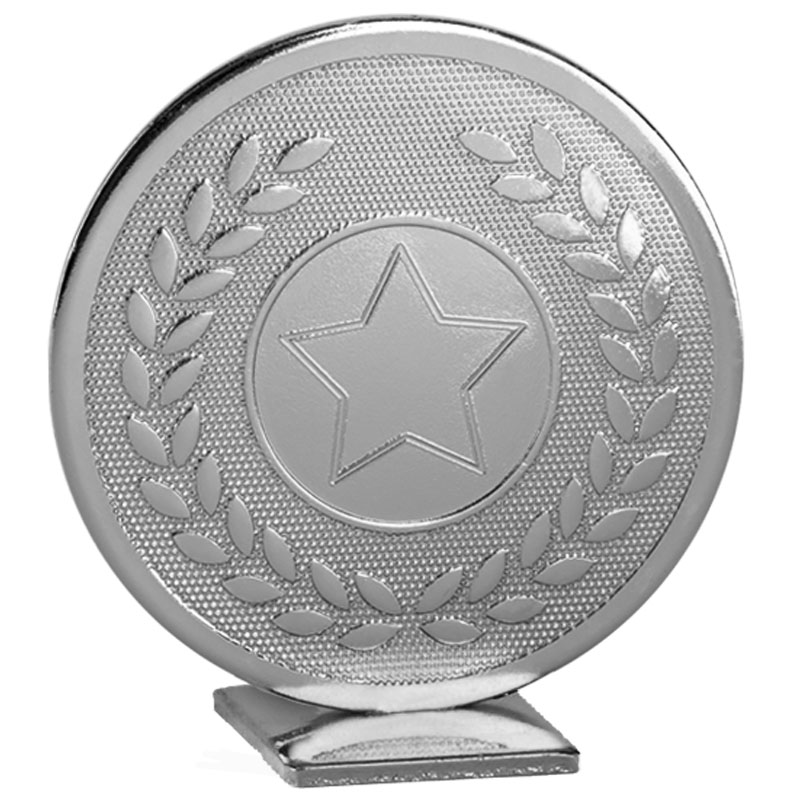 Free Standing Silver Star Global Medal