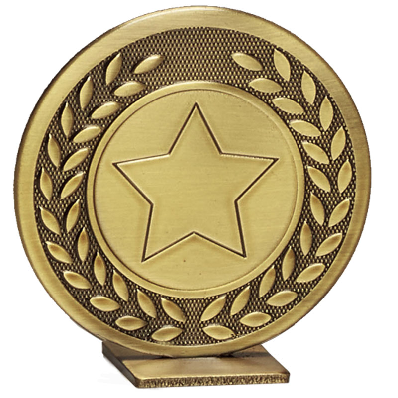 60mm Free Standing Bronze Star Global Medal