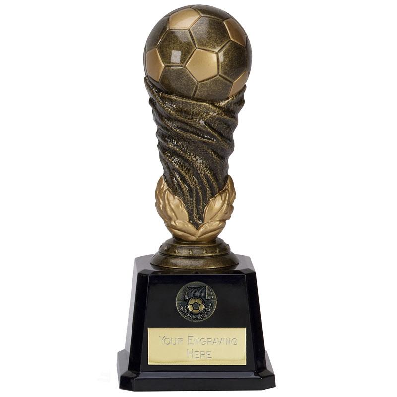8 Inch Detailed Ball Football Icon Award