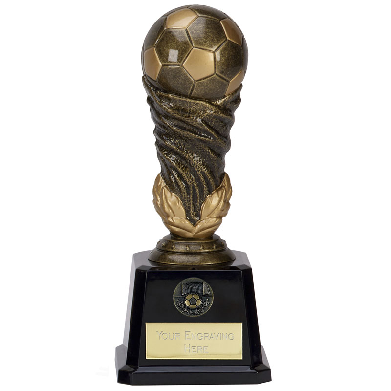 10 Inch Detailed Ball Football Icon Award